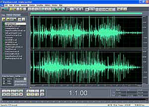 Adobe Audition Software used for Stereo Post Production